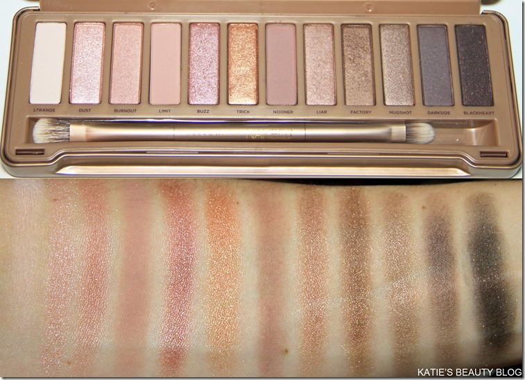 NAKED PALETTE 3 SWATCHES