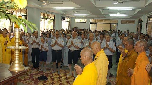 DSC06341 Lễ Hiệp kỵ   Lễ Huý Nhật Cư sĩ Sáng lập viên GĐPT Việt Nam   Tâm Minh Lê Đình Thám