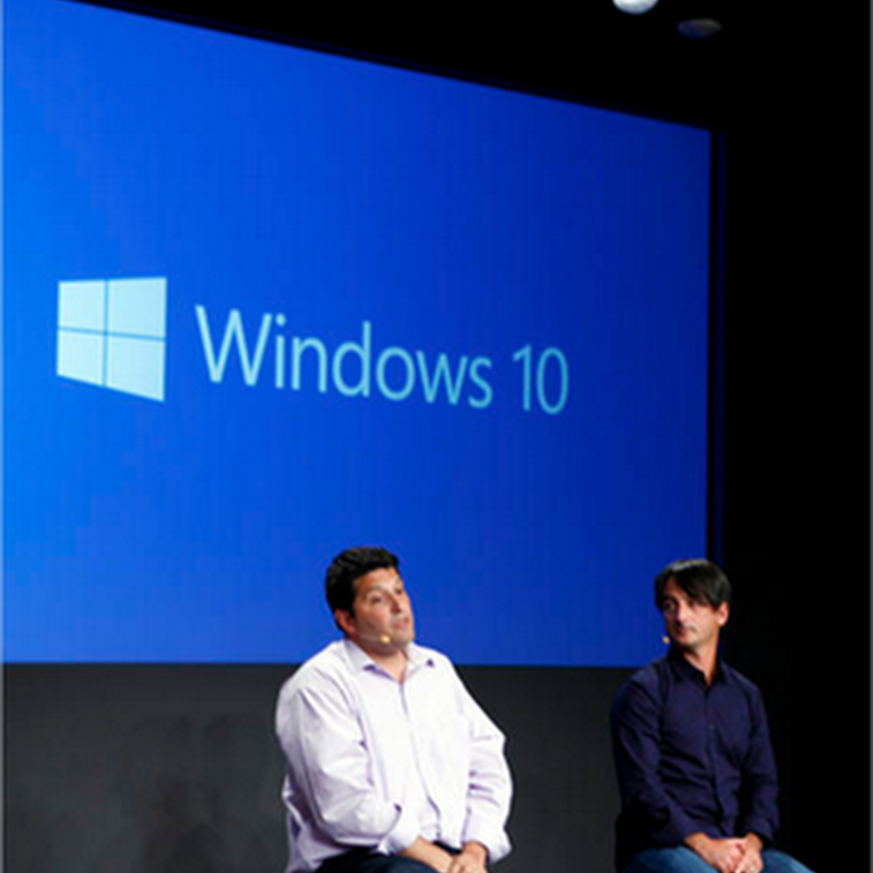 Video de la presentación de Windows 10
