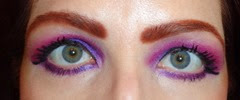 Look1 with Urban Decay Electric Palette_eyes open