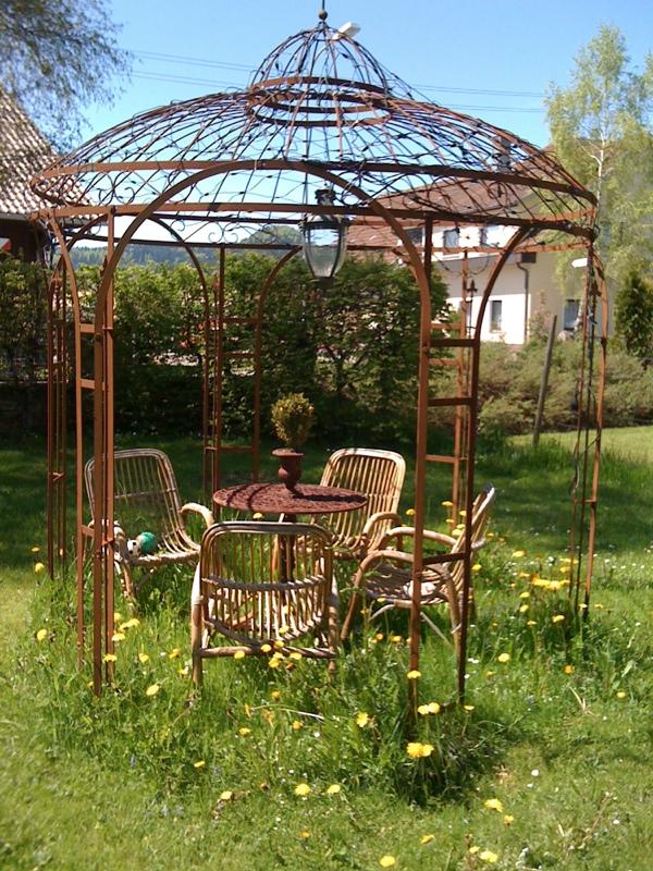 eisen pavillon eisenpavillon metall pavillon gartenpavillon pavillon ebay. Black Bedroom Furniture Sets. Home Design Ideas