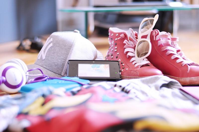 nintendo 3d, zagufashion, fashion bloggerers, outfit, i nuovi giochi della nintendo, tecnologia, hi-tech