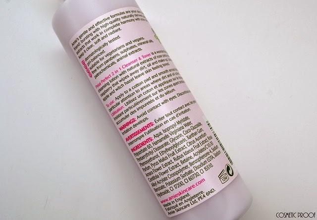 Amie Petal Perfect 2 in 1 Cleanser and Toner Review (2)