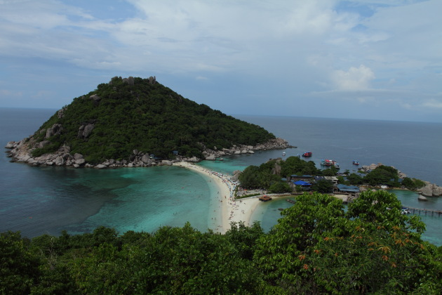 Koh Nang Yuan - one of the prettiest islands in the world