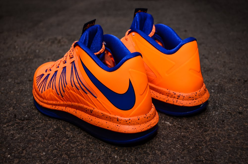 size 40 f5a22 a1e7e ... Nike Air Max LeBron X Low 8220Knicks8221 Arriving at Retailers ...