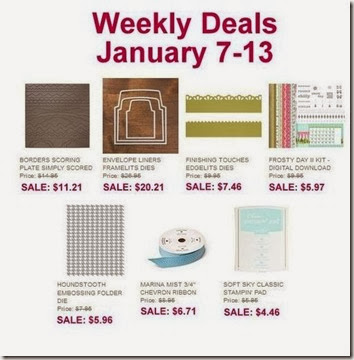 Weekly Deals Hanuary 7th-13