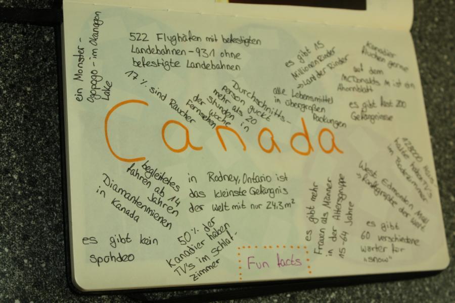 7850 km westwärts ♥ - kanada ♥: abschiedsbuch und briefe wichteln :)