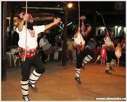 Танец в масках. Болгарская деревня. www.timeteka.ru