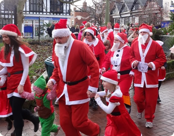 Nantwich Festive Fun Run 2013