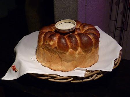 Pensiune Bran: paine si sare