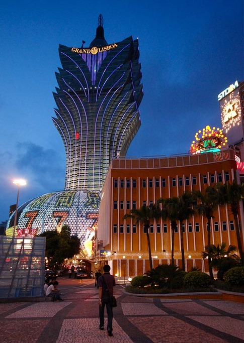44. Grand Lisboa (Macao, China)