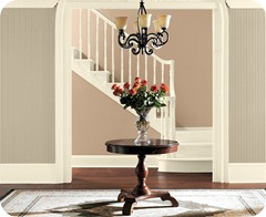 Sherwin Williams Universal Khaki Sw6150 Antique White Sw 6119 And Tamarind Sw7538