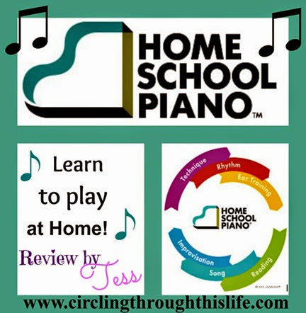 Learn piano at home with HomeSchoolPiano!