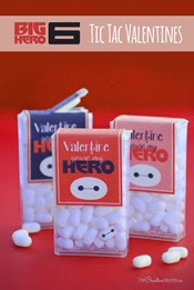 One Creative Mommy - Tic Tac Toe Valentines