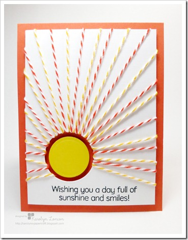 CFC59 - Wishing You A Day Full of Sunshine