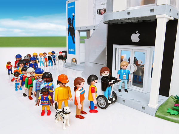 E8bb playmobil apple store line pack