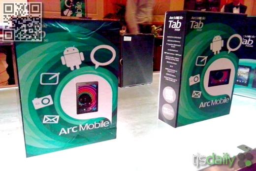arc mobile tab 701d photos