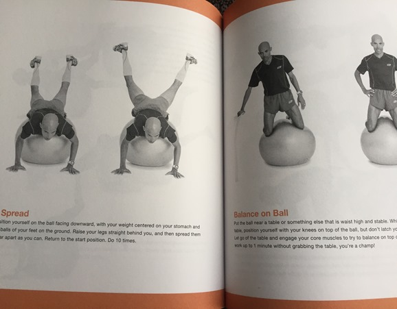 Meb For Mortals - Strength Train with balance ball