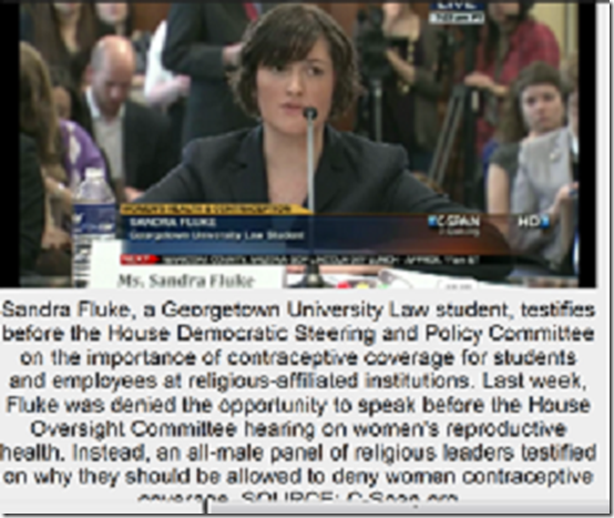 sandra fluke from each