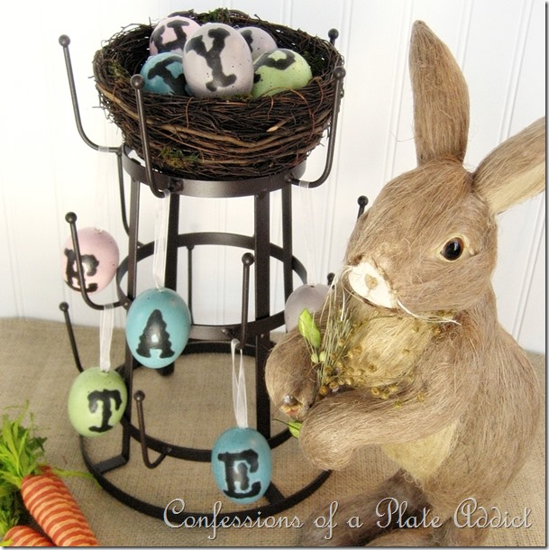 CONFESSIONS OF A PLATE ADDICT Easter Bottle Drying Rack