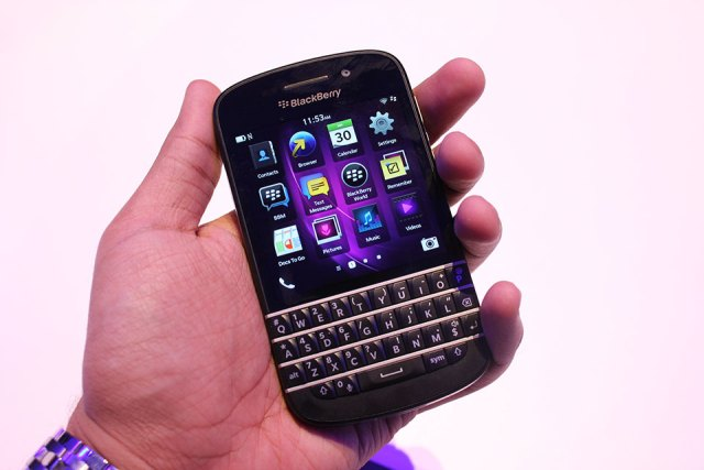 BlackBerry Q10 LTE Globe