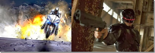 RoboCop on Fire Picture