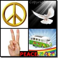 PEACE- 4 Pics 1 Word Answers 3 Letters