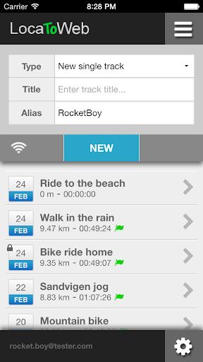 LocaToWeb - Live GPS tracker