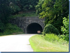 1032 Virginia - Blue Ridge Parkway North - Bluff Mountain Tunnel & sign