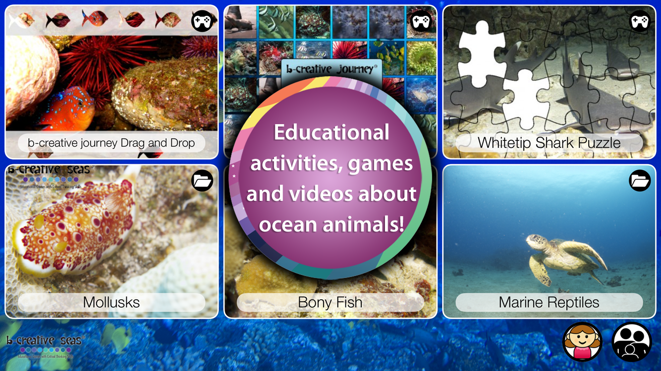 Ocean Animal Learning- screenshot