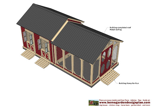 1 How To Build Portable Loafing Shed Plans 44913 Creanchipser