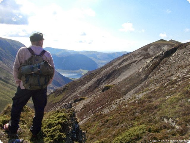 matt, gasgale crags and crummock water