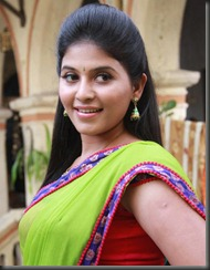 Actress Anjali in Madha Gaja Raja New Pics