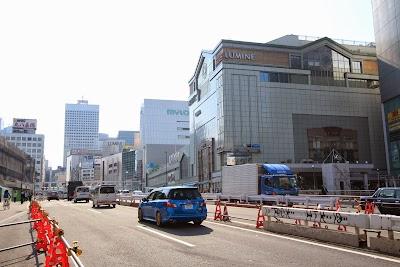 聖地巡礼記事:Forest 新宿駅南方面