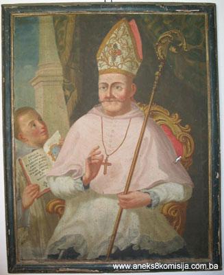 Biskup fra Grgo Ilić, apostolski vikar u Bosni