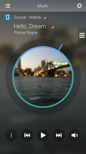 Audio Remote Android App Screenshot