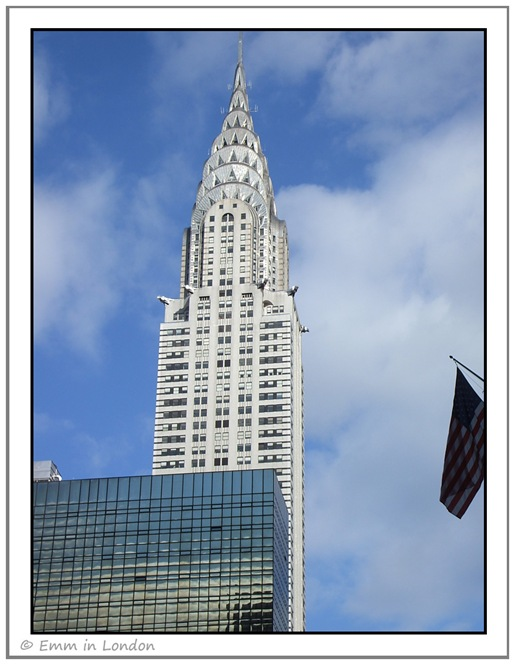 The Art Deco Chrysler Building New York City
