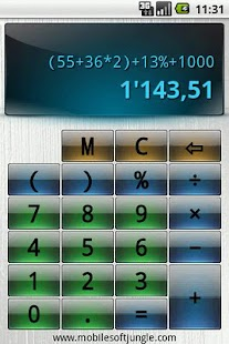 Easy Calculator Screenshot 1