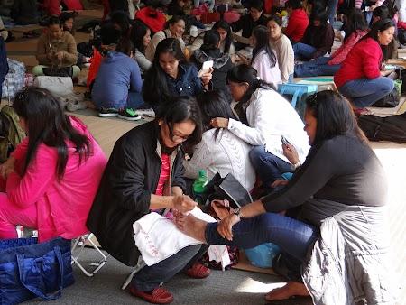 Anul Nou Chinezesc: Pedichiura la Hong Kong