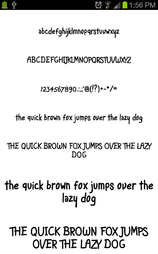 Fonts for Galaxy FlipFont Free 3.23.0 screenshots 4