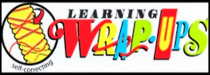 Learning Wrap-up logo for review at Circling Through This Life