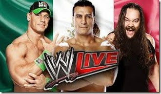 WWE live Luchas y Luchadores