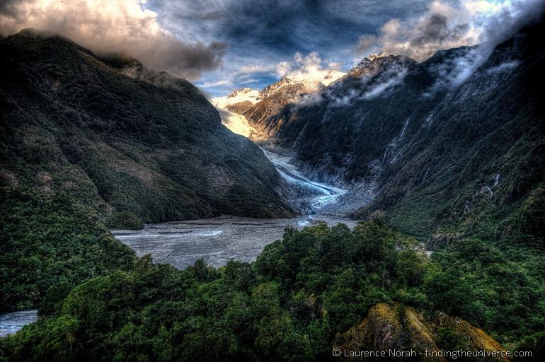 Glacier new zealand west coast