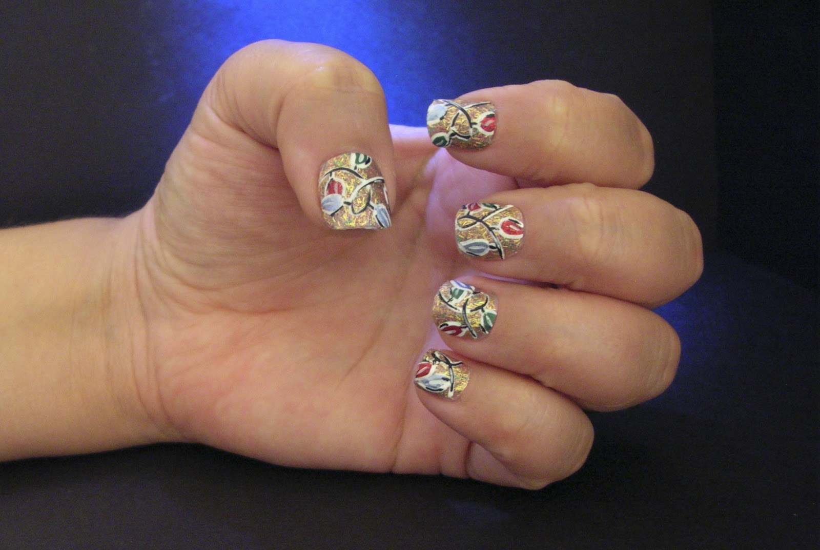 ecklipsed by color: On the Twelfth Day of Christmas, my nail art ...