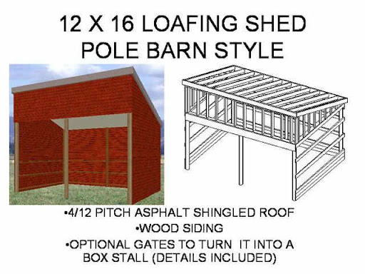 16x20 Gable Shed Roof Plans Howtospecialist How To Build Step