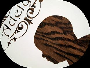 Wood Grain Profile Plaques