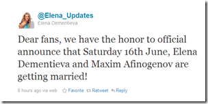 Twitter - @Elena_Updates- Dear fans, we have the hon ...