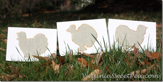 Thansgiving Cards in Leaves