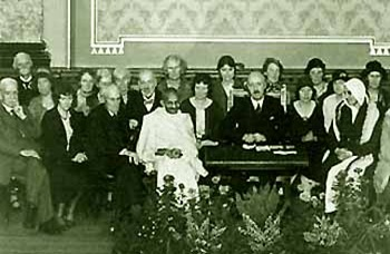 gandh conferenza London Veg Soc1931