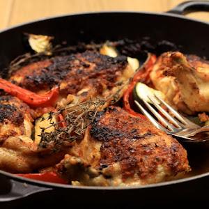 Roast Chicken Piri Piri